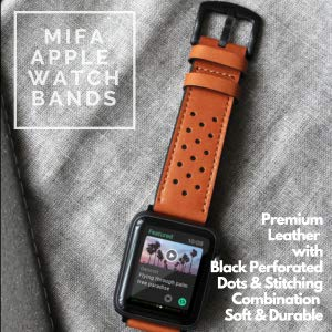 leather apple watch band 42mm