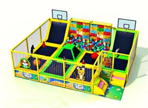 trampoline park equipment